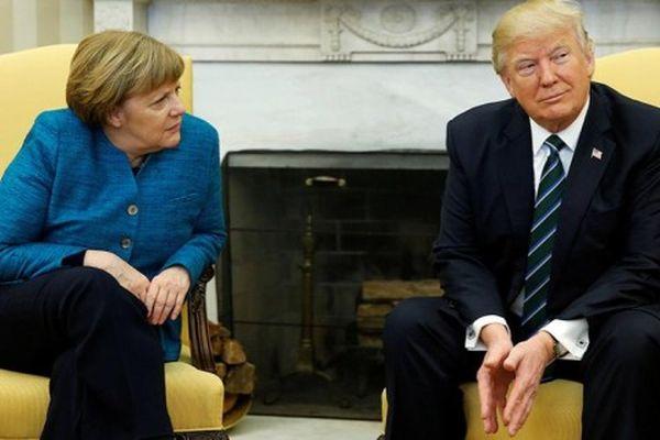 Меркель і Трамп назустрічі вГамбурзі обговорили конфлікт наДонбасі