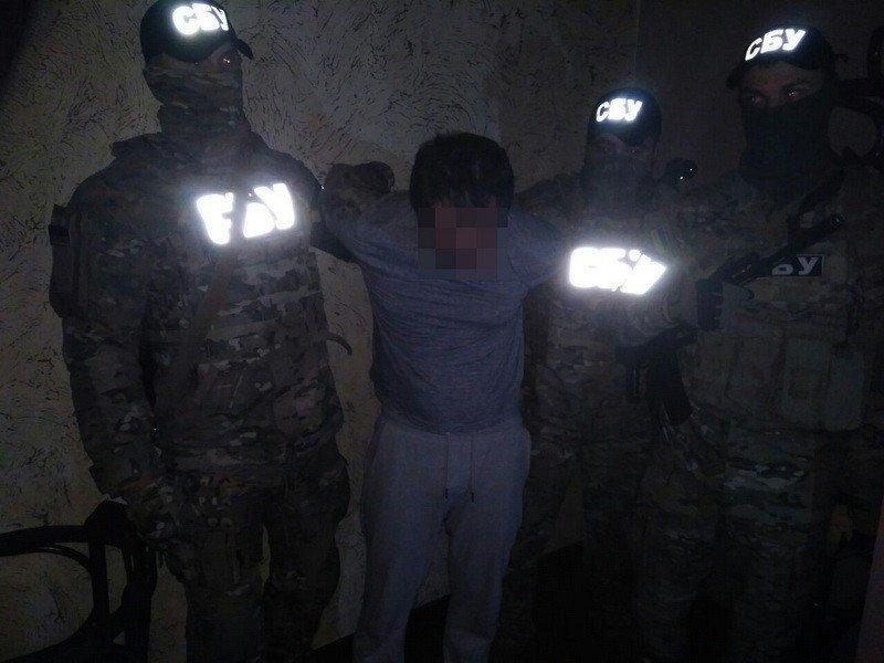 В Киеве задержали агента российских спецслужб, есть фото