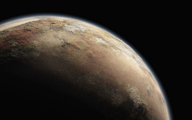NASA показало політ New Horizons над поверхнею Плутона і Харона