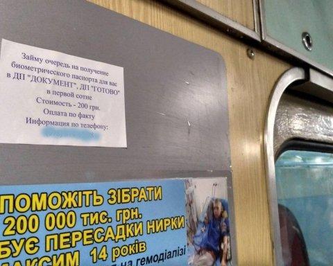 У Києві заробляють на місцях у черзі для оформлення паспортів