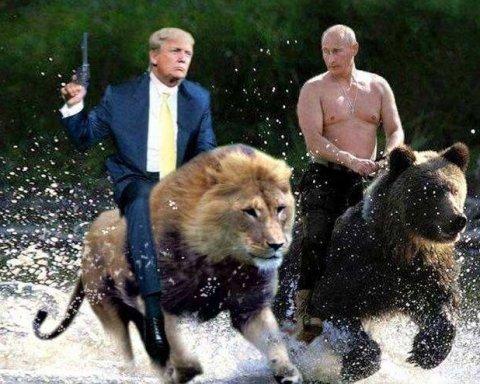 Їм треба в шашличній спілкуватись: соцмережі глузують над зустріччю Трампа з Путіним