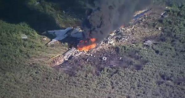 В США впав військовий літак, багато загиблих