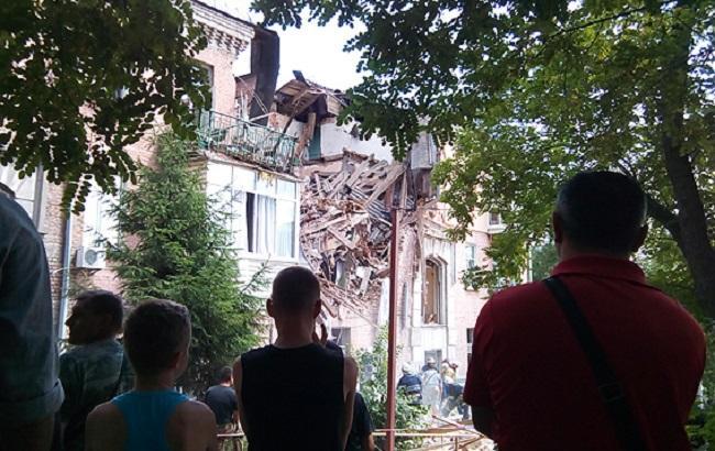Вибух уКиєві: 23 людей переселили вгуртожиток