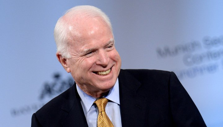 Американський сенатор Джон Маккейн