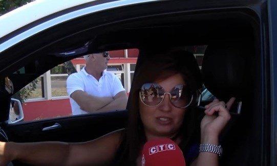 В Сумах директор місцевого телеканала облаяла патрульних, є відео