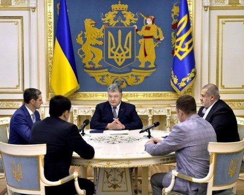 Порошенко прийняв важливі кадрові рішення по Криму