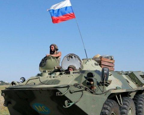 ОБСЄ показала велику колону техніки з РФ на Донбасі