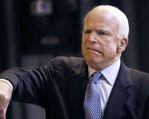 Маккейн жестко поставил на место ставленника Трампа в вопросе предоставления оружия Украина