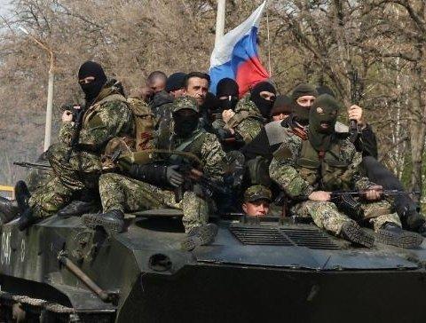 """На Донбасі затримали """"дивну"""" групу бойовиків"""