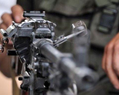 Война на Донбассе: появилось видео боя