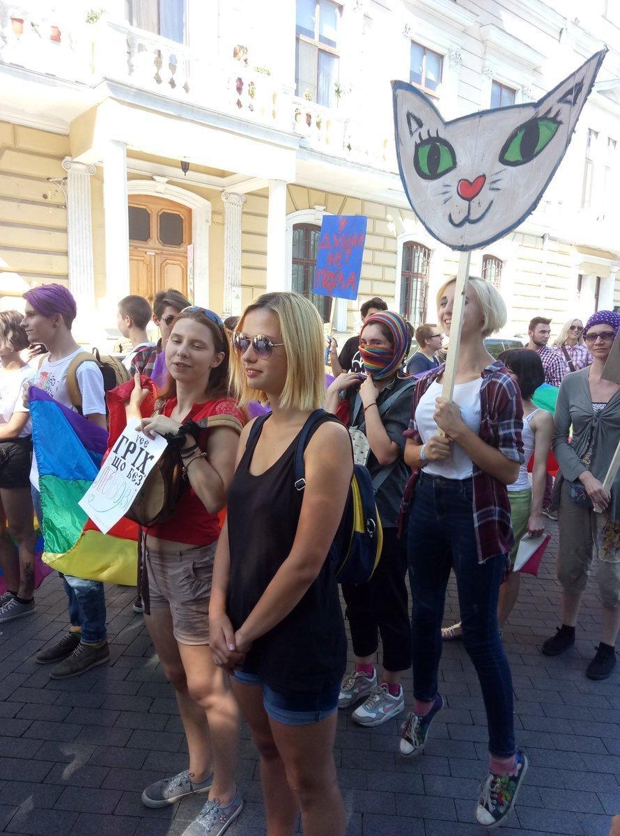 В Одессе начался Марш равенства, есть фото