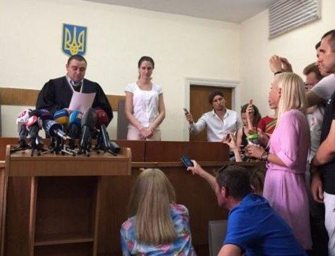 Київський суд обрав Шабуніну запобіжний захід: стали відомі деталі
