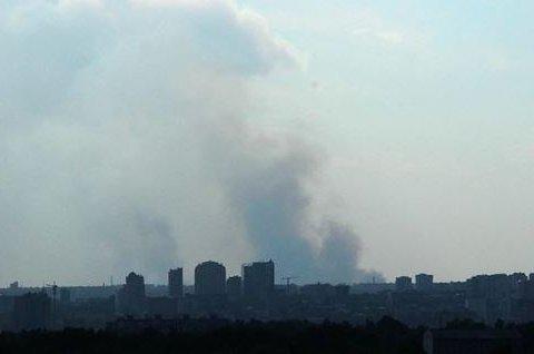 У Донецьку вибухнула вантажівка зі зброєю бойовиків: стали відомі подробиці
