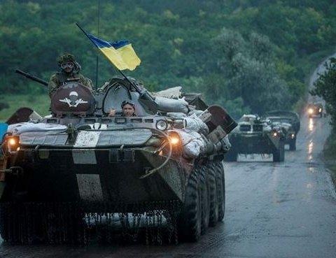 У штабі АТО зробили заяву щодо «наступу» ЗСУ на позиції бойовиків