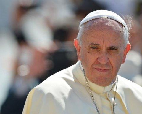 Папа Франциск сделал заявление после последних терактов