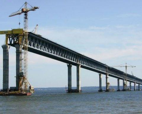 Україна робить новий крок щодо будівництва Керченського мосту
