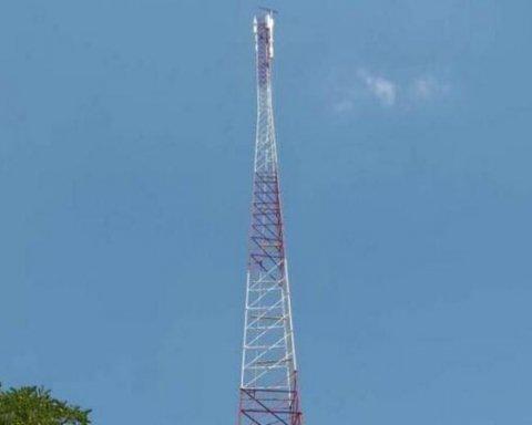 В Луганской области построили телебашню для вещания на оккупированные территории