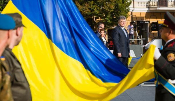 """""""Склоняем головы в память о тех, кто под нашим флагом отдал жизнь за Украину"""", - Порошенко - Цензор.НЕТ 6216"""
