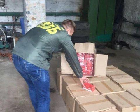В Сумской области изъяли крупную партию контрабандного товара из РФ