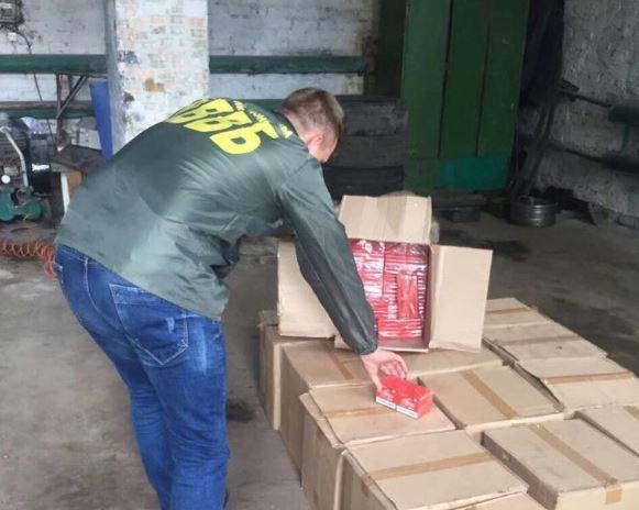 На Сумщині вилучили велику партію контрабандного товару з РФ