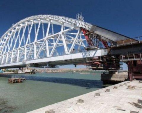 Окупанти не можуть відкрити Керченський міст через Путіна