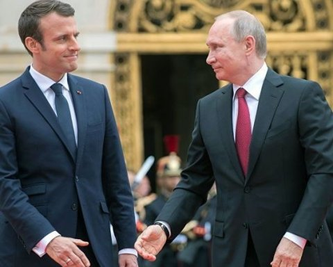 Мы не должны проявлять слабость с Путиным – Макрон