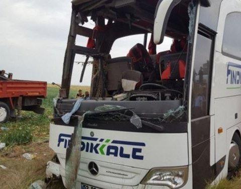 В Турции разбился пассажирский автобус: есть погибшие и раненые
