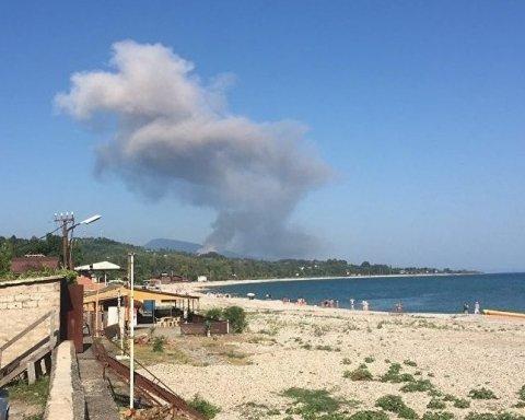В Абхазії значно зросла кількість постраждалих від вибухів на складі боєприпасів