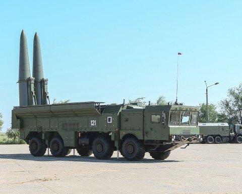 Россия могла разместить у границ Украины баллистические ракеты, — военный эксперт