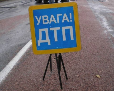 Жуткое ДТП под Киевом: водитель погиб в огне, есть фото