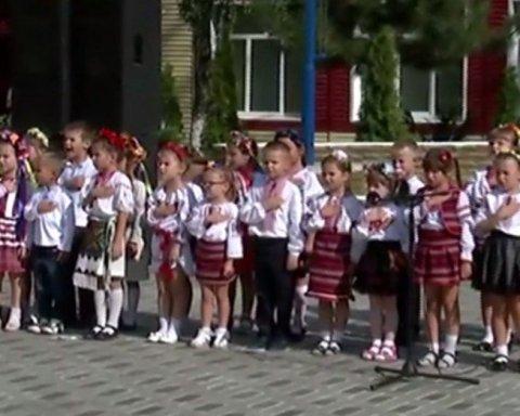 Діти Донеччини виконали гімн України, зворушливе відео