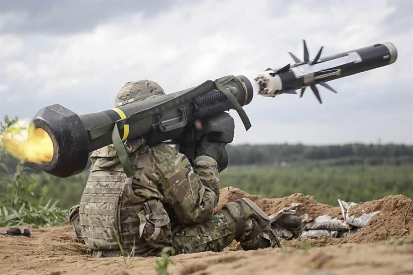 Украина посчитала количество полученного от США оружия