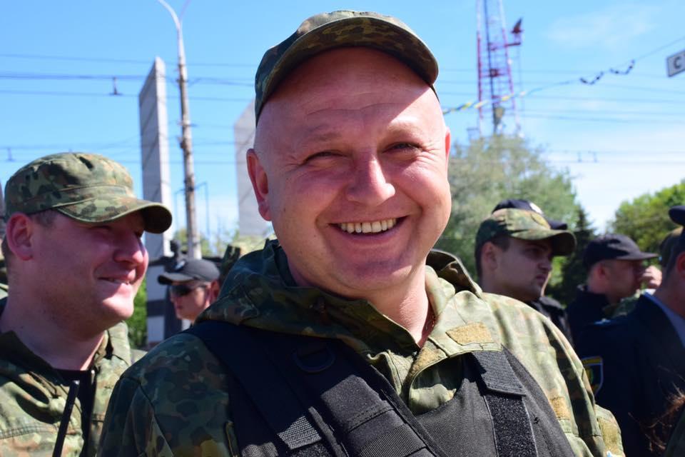 УМар'їнці наблокпосту помер поліцейський Олександр Трегуб