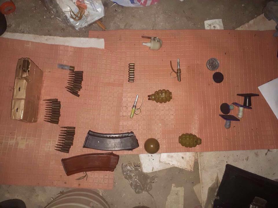 Під Одесою виявили схрон з боєприпасами з АТО, є фото