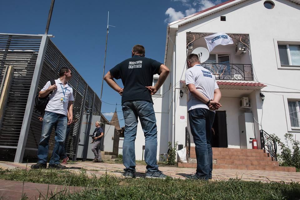 ОБСЄ розмістила спостерігачів уСтаниці Луганській
