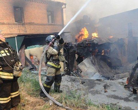 Стала відома попередня причина виникнення масштабної пожежі в Ростові