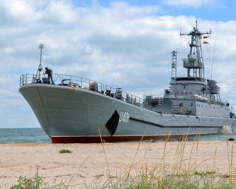 Україна стягує кораблі для захисту Азовського моря від Путіна