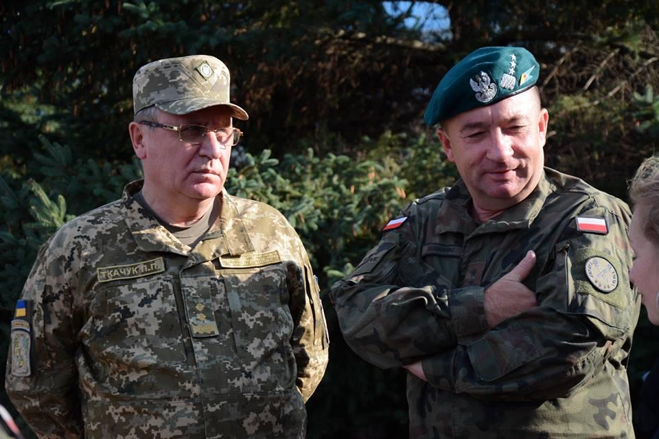 В Украинское государство  прибыл руководитель  Генштаба Вооруженных Сил Польши
