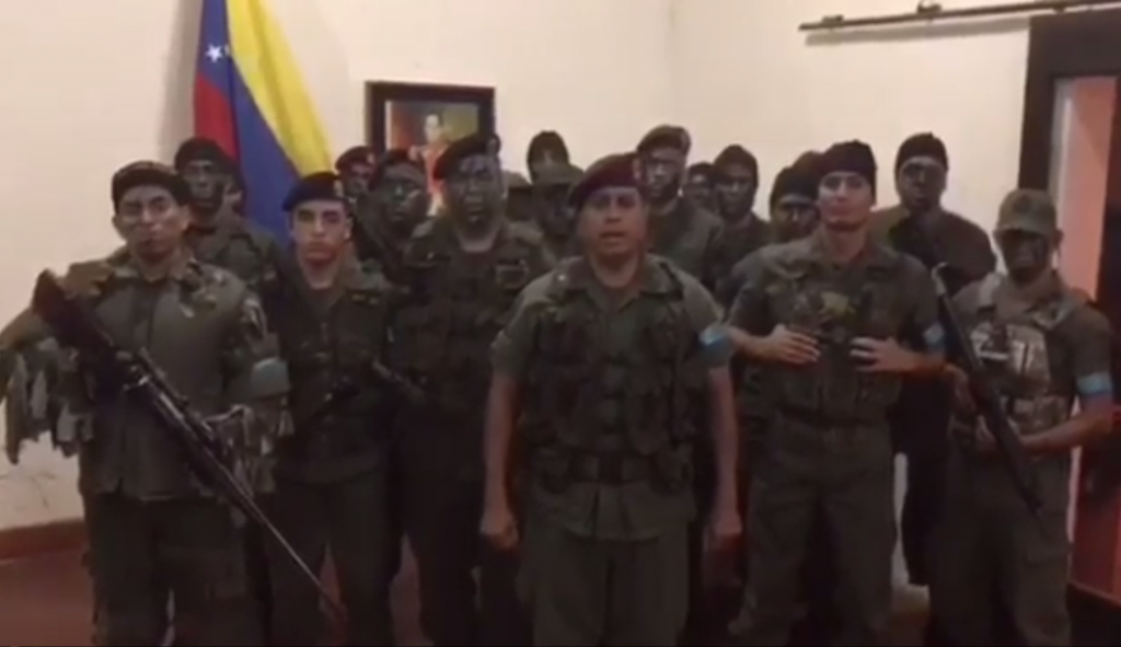 Теракт у Венесуелі: стали відомі подробиці захоплення військової бази