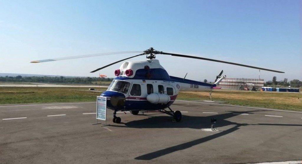 В Запорожье презентовали первый украинский вертолет, есть фото