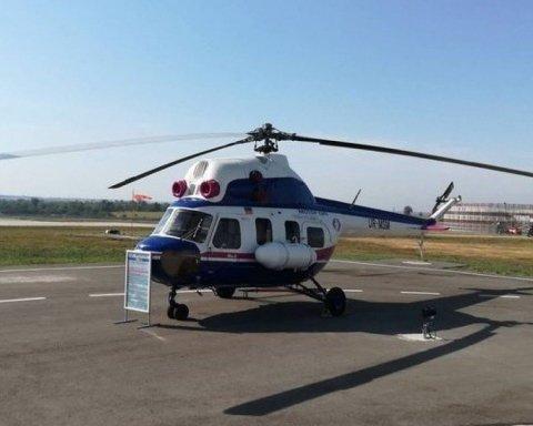 У Запоріжжі презентували перший український вертоліт, є фото
