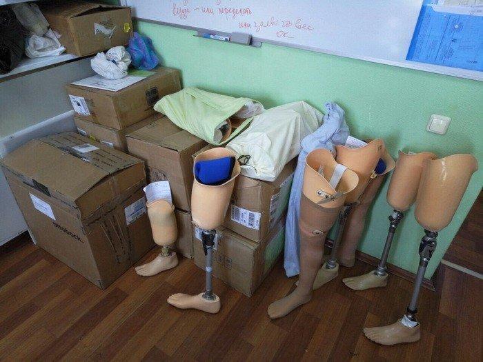 СБУ заявила про постачання з РФ неякісних деталей для протезів бійців АТО