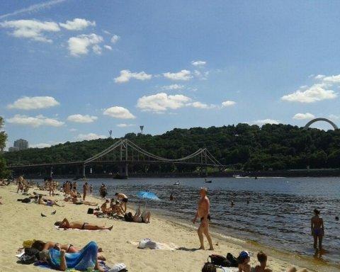Появилась неутешительная информация относительно всех пляжей Киева