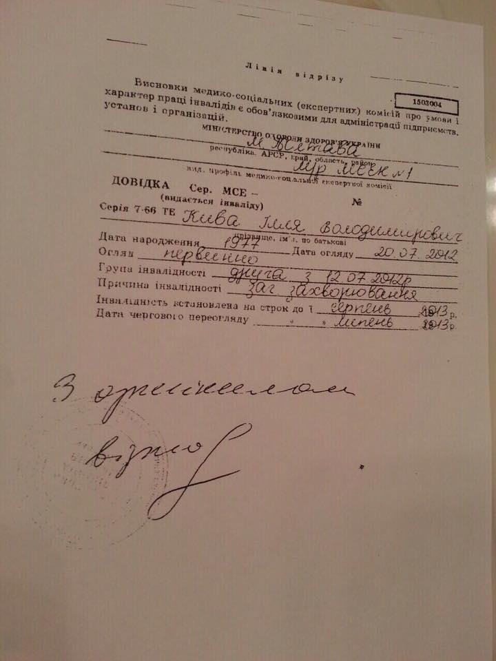 Нардеп Каплин заявил, что Илья Кива психически больной и представляет угрозу для окружающих