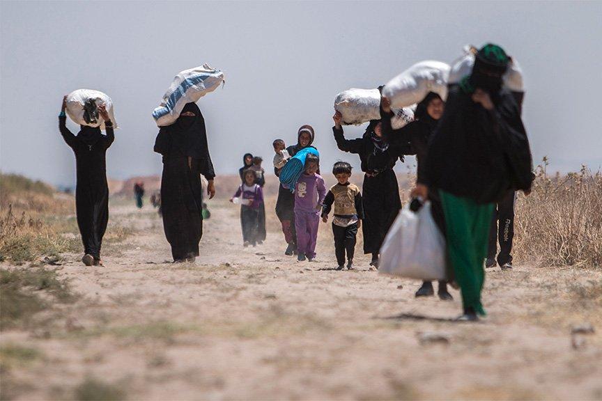 Ворганизации ООН назвали количество сирийских беженцев, которые вернулись домой