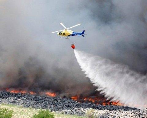 У Португалії розбився пожежний вертоліт, є загиблий