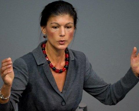 Сара Вагенкнехт, кандидат у канцлери Німеччини від «лівих»