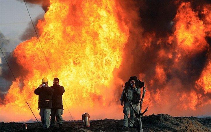 Взрыв прогремел натрубопроводе нефтяной компании вМексике