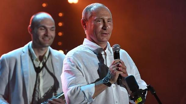 Путін раптово з'явився на сцені Koktebel Jazz Party в анексованому Криму