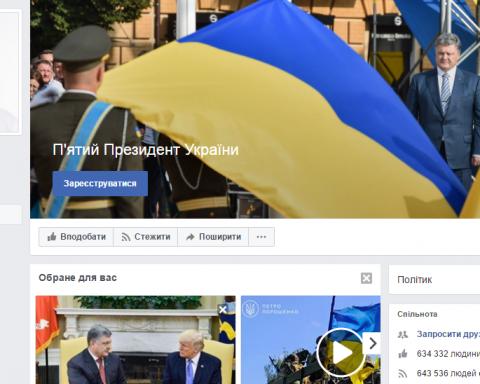 Названо количество ботов, комментирующих страницу Порошенко в Фейсбуке, есть видео